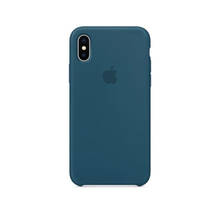 Чехол накладка Cosmos Blue для iPhone X original copy