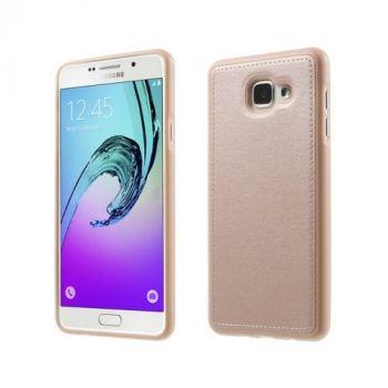 Яркий чехол Flexible для Samsung Galaxy A3 2016 gold