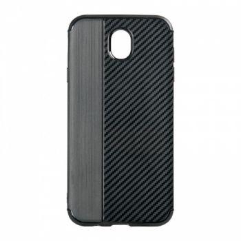 Чехол хамилион с прозрачной половиной для Samsung J600 (J6-2018) черный