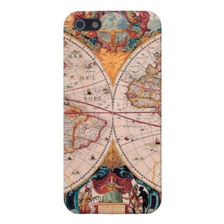 Чехол-накладка для Apple iPhone 5/5S серии Colorfull Globe