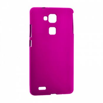 Оригинальная силиконовая накладка для Huawei Y3 розовый