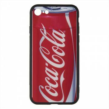 Силиконовая накладка с принтом от iPaky для iPhone 6 Plus Enjoy Coca-Cola