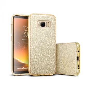 Чехол бампер золотого цвета Amazing для Samsung Galaxy S8
