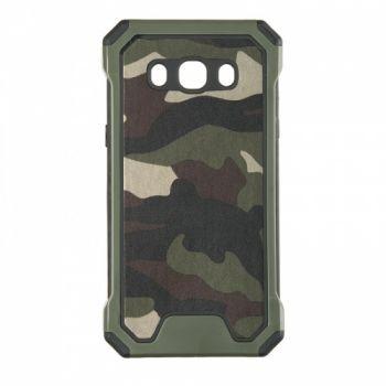 Пластиковый чехол в стиле военный камуфляж для Samsung J510 (J5-2016)