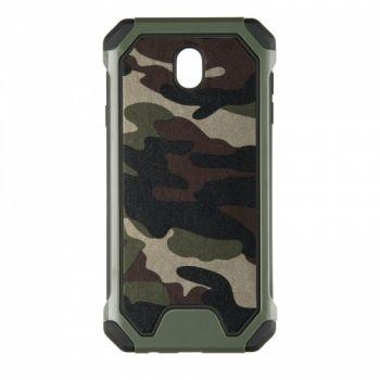 Пластиковый чехол в стиле военный камуфляж для Samsung J730 (J7-2017)
