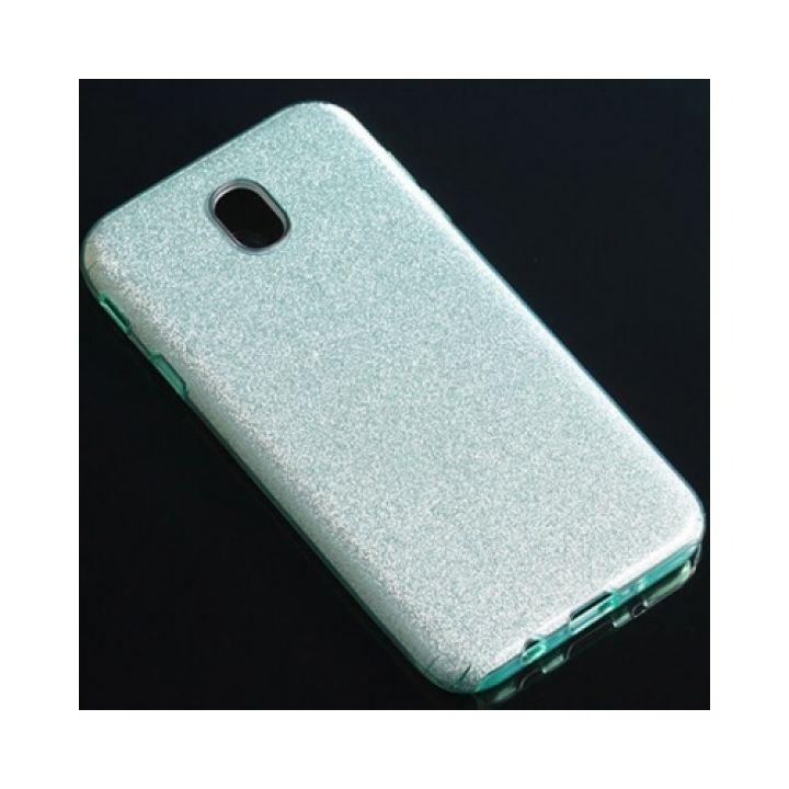 Чехол пенал зеленого цвета Stars  для Samsung Galaxy J730 2017