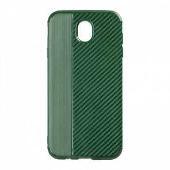 Чехол хамилион с прозрачной половиной для Huawei P8 Lite зеленый