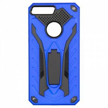 Бронированный пластиковый чехол Cavalier от iPaky для Huawei Y7 Prime (2018) синий