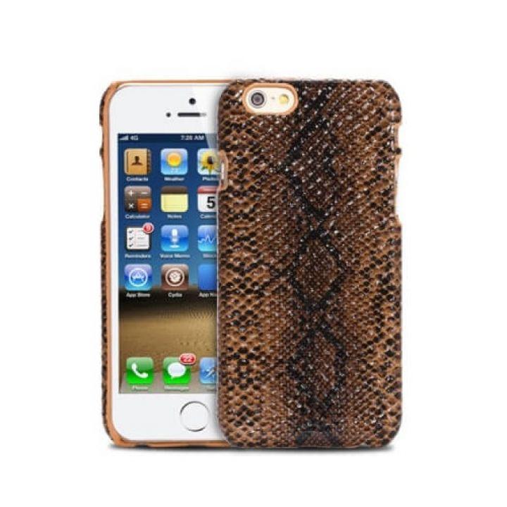 Чехол-накладка Nice Snake для iPhone 6/6S brown