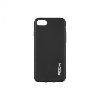 Плотный силиконовый чехол Matte от Rock для Huawei GR5 черный