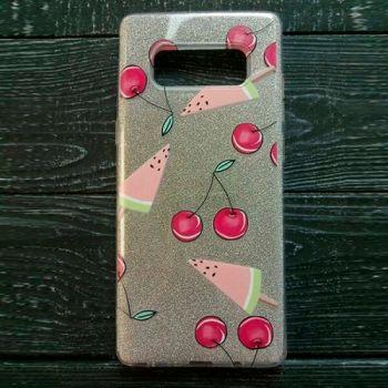 Чехол бампер c рисунком Fruit для Samsung Galaxy Note 8