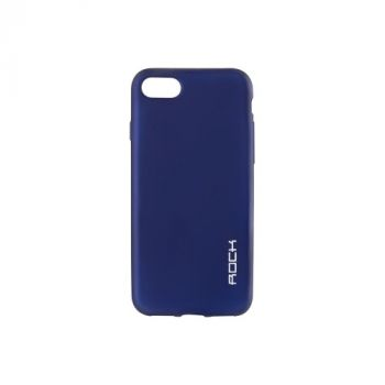 Плотный силиконовый чехол Matte от Rock для Meizu M3s синий