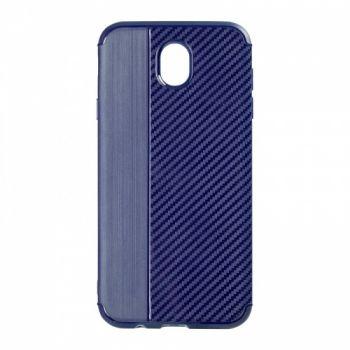 Чехол хамилион с прозрачной половиной для Samsung J510 (J5-2016) синий