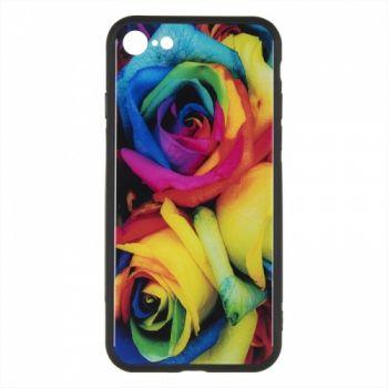 Силиконовая накладка с принтом от iPaky для iPhone 6 Plus Mystic Roses
