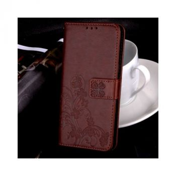 Красивый чехол книжка из кожи Lovely для Samsung Galaxy S8
