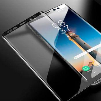 Защитное стекло Full Screen Samsung N960 (Note 9) черное