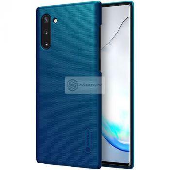 Синий пластиковый чехол Silk Touch от Nillkin для Samsung Galaxy Note 10