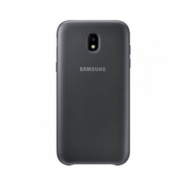 Оригинальный чехол бампер S-Cover для Samsung Galaxy J530 2017 black