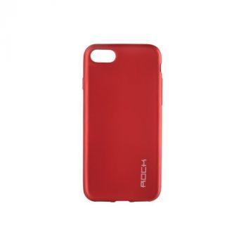 Плотный силиконовый чехол Matte от Rock для Huawei GR5 красный