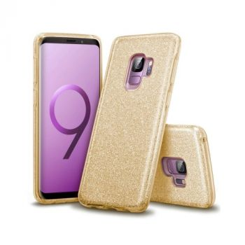 Золотой чехол накладка Be Amazing для Samsung Galaxy S9 Plus