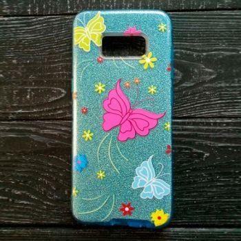 Яркий чехол бампер c рисунком Batterfly для iPhone 7 Plus