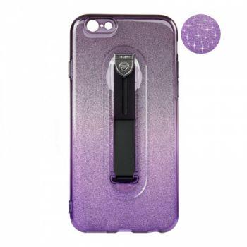 Накладка градиент Glitter Hold от Remax для iPhone 6 Plus черный/фиолетовый