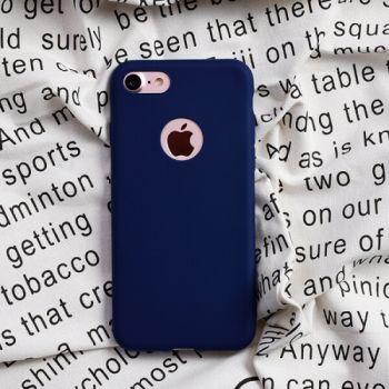 Синий ТПУ чехол накладка UltraSlim для iPhone 7 Plus