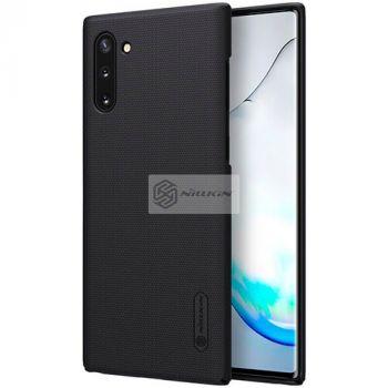Черный пластиковый чехол бампер Silk Touch от Nillkin для Samsung Galaxy Note 10