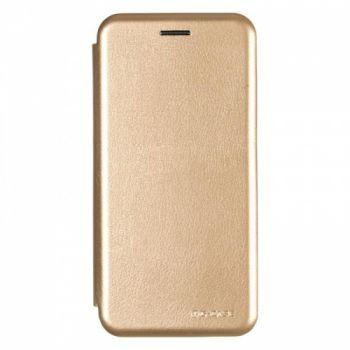 Чехол книжка из кожи G-Case Ranger для Samsung J600 (J6-2018) золотой