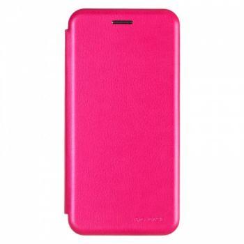 Чехол книжка из кожи G-Case Ranger для Samsung J600 (J6-2018) розовый