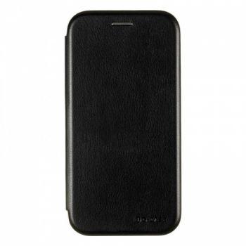 Чехол книжка из кожи Ranger от G-Case для Huawei Honor 9 Lite черный