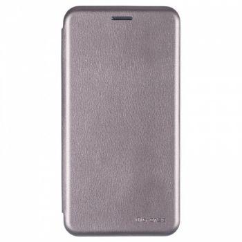 Чехол книжка из кожи Ranger от G-Case для Huawei Nova Lite серый