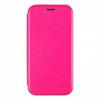 Чехол книжка из кожи Ranger от G-Case для Huawei P20 Lite розовый