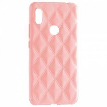 Накладка в ромбиках для девочек на Xiaomi Redmi 5 Plus Light Pink