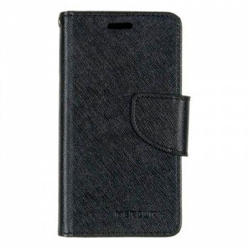 Чехол книжка Cover от Goospery для Samsung J105 (J1 Mini) черный