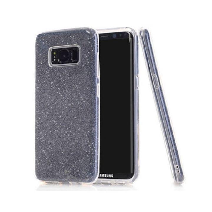 Комбинированный чехол бампер Amazing черного цвета для Samsung Galaxy S8