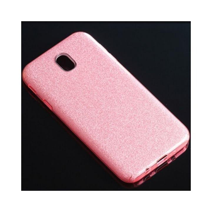 Красивый розовый чехол пенал Stars для Samsung Galaxy J730 2017