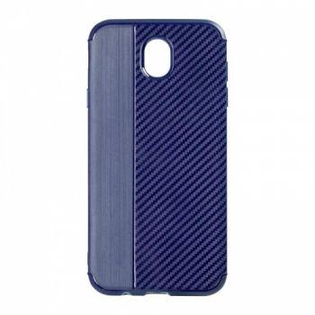 Чехол хамилион с прозрачной половиной для Huawei P8 Lite синий