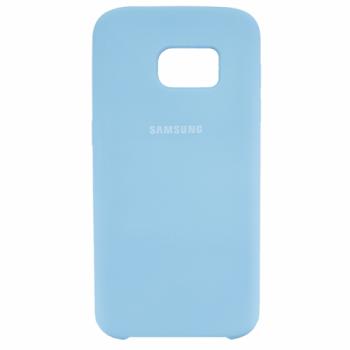 Оригинальный чехол накладка Soft Case для Samsung S7 Edge Ocean Mint