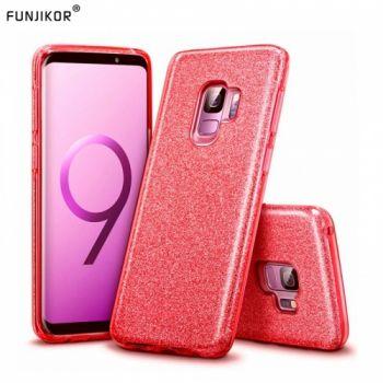 Яркий чехол накладка Be Amazing для Samsung Galaxy S9 Plus красный