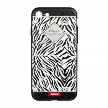 Красивый чехол Sinche Zebra для iPhone 8
