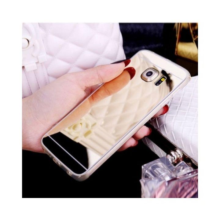 Зеркальный чехол накладка Acylic для Samsung Galaxy S7