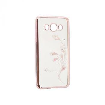 Прозрачный чехол с рисунком и камешками для Huawei Y5 II Elegant
