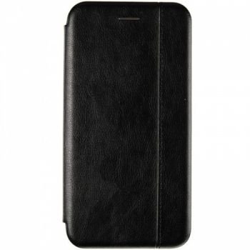 Кожаная книжка Cover Leather от Gelius для Huawei P Smart (2019) черная