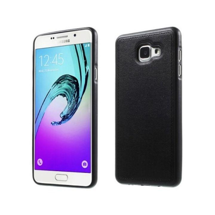 Черный чехол бампер Flexible для Samsung Galaxy A7 2016