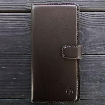 Кожаный чехол книжка для iPhone 7 Plus ручной работы Elite от Jitnik, коричневый