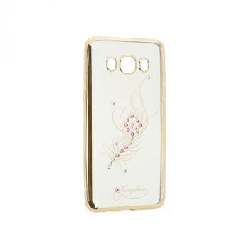 Прозрачный чехол с рисунком и камешками для Huawei P8 Lite Firebird