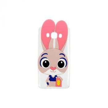 Силиконовый чехол Зверополис Rabbit для Meizu M5