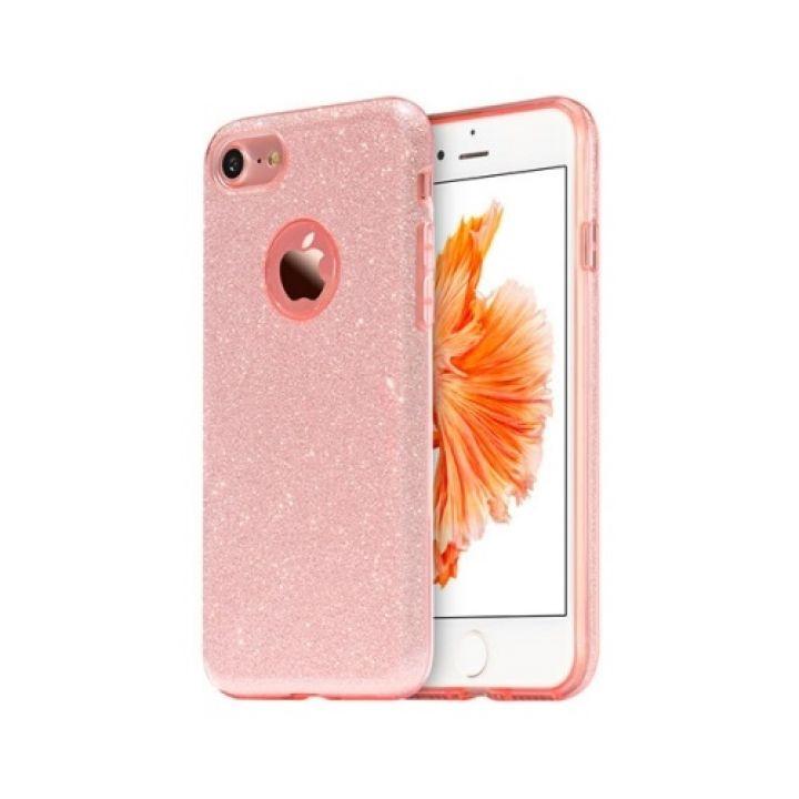 Розовый чехол накладка Amazing для iPhone 8 Plus