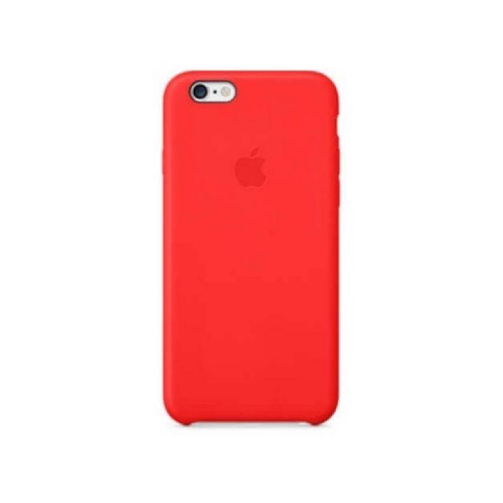 Красивый чехол накладка красного цвета для iPhone 6 Plus original copy